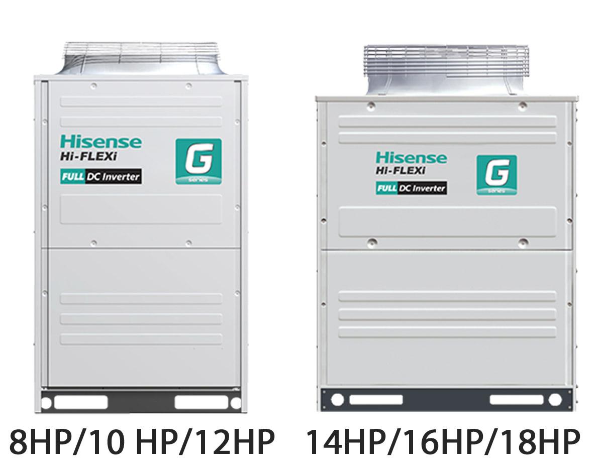 Внешние блоки Hi-Flexi серия G